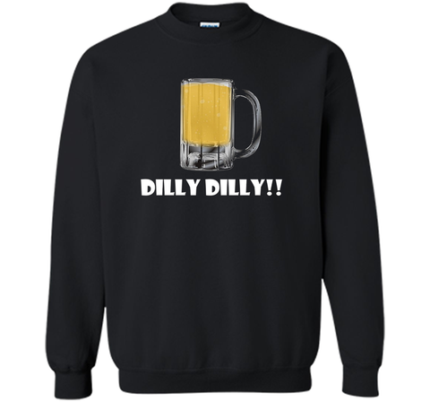 Dilly Dilly Beer Mug Alcohol Drink Stein Medieval T Shirt Black / Small Crewneck Pullover Sweatshirt 8 oz - PresentTees