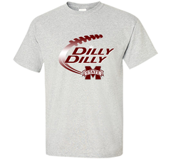 Dilly Dilly Mississippi State T-Shirt Custom Ultra Cotton Tshirt - PresentTees
