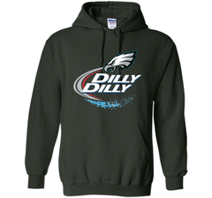 Philadelphia Eagles Dilly Dilly T-Shirt NFL Football Gift Fans Pullover Hoodie 8 oz - PresentTees