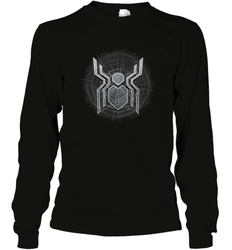 Marvel Spider Man Far From Home Web Spider Chest Logo Long Sleeve T-Shirt