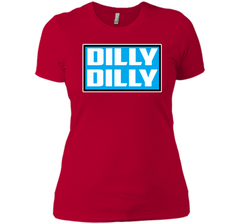 Bud Light Official Dilly Dilly Sweatshirt T Shirt Next Level Ladies Boyfriend Tee - PresentTees