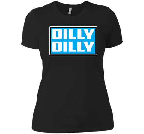 Bud Light Official Dilly Dilly Sweatshirt T Shirt Black / Small Next Level Ladies Boyfriend Tee - PresentTees