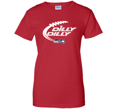 Seattle Seahawks Dilly Dilly Bud Light T Shirt SEA NFL Football Gift for Fans Ladies Custom - PresentTees