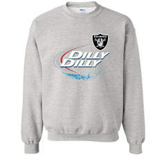 Oakland Raiders Dilly Dilly T-Shirt OAK NFL Football Gift for Fans Crewneck Pullover Sweatshirt 8 oz - PresentTees