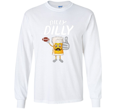 Bud Light Dilly Dilly Funny Football Beer T Shirt LS Ultra Cotton TShirt - PresentTees