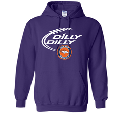 DILLY DILLY  Denver Broncos shirt Pullover Hoodie 8 oz - PresentTees