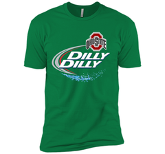 Dilly Dilly Ohio State Buckeyes T Shirt Ohio State Dilly Dilly Bud Light Shirts Next Level Premium Short Sleeve Tee - PresentTees