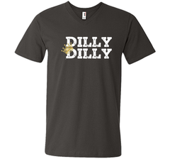 Bud Light Dilly Dilly Crown T Shirt Men Printed V-Neck Tee - PresentTees