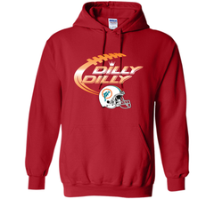 Miami Dolphins MIA Dilly Dilly Bud Light T Shirt MIA NFL Football Gift for Fans Pullover Hoodie 8 oz - PresentTees