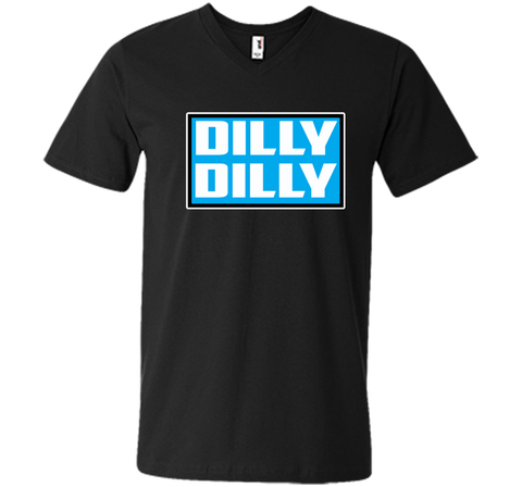 Bud Light Official Dilly Dilly Sweatshirt T Shirt Black / Small Men Printed V-Neck Tee - PresentTees