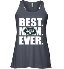 Best New York Jets Mom Ever NFL Team Mother's Day Gift Women's Racerback Tank Women's Racerback Tank - PresentTees