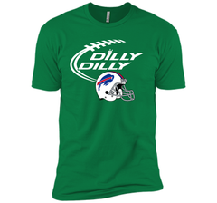 DILLY DILLY Buffalo Bills NFL Team Logo Next Level Premium Short Sleeve Tee - PresentTees