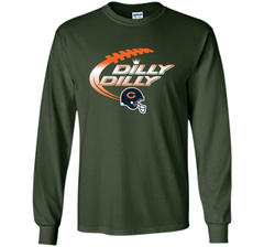 Chicago Bears Dilly Dilly T Shirt Bud Light Christmas NFL Football Gift for Fans LS Ultra Cotton TShirt - PresentTees