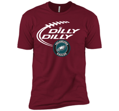 DILLY DILLY Philadelphia Eagles shirt Next Level Premium Short Sleeve Tee - PresentTees