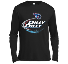 Tennessee Titans Dilly Dilly T-Shirt NFL Football Gift for Fans LS Moisture Absorbing Shirt - PresentTees