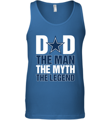 Dallas Cowboys Dad The Man The Myth The Legend NFL Father's Day Men's Tank Top Men's Tank Top - PresentTees