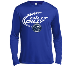 DILLY DILLY  Los Angeles Rams shirt LS Moisture Absorbing Shirt - PresentTees