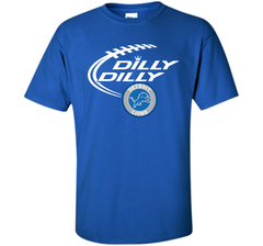 DILLY DILLY Destroit Lions shirt Custom Ultra Cotton Tshirt - PresentTees