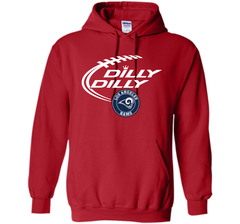 DILLY DILLY  Los Angeles Rams shirt Pullover Hoodie 8 oz - PresentTees