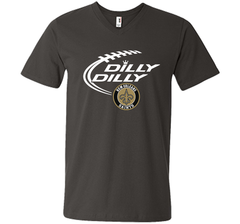 DILLY DILLY  New Orleans Saints shirt Men Printed V-Neck Tee - PresentTees