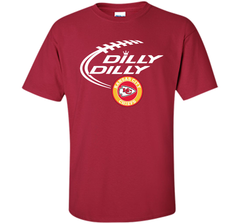DILLY DILLY Kansas city Chiefs shirt Custom Ultra Cotton Tshirt - PresentTees