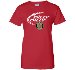 DILLY DILLY  New Orleans Saints shirt Ladies Custom - PresentTees