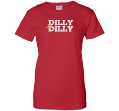 Dilly Dilly Crown Football T Shirt Ladies Custom - PresentTees