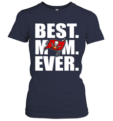 Best Tampa Bay Buccaneers Mom Ever NFL Team Mother's Day Gift Women's T-Shirt