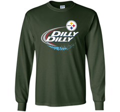 Pittsburgh Steelers Dilly Dilly T-Shirt NFL Football Gift Fans LS Ultra Cotton TShirt - PresentTees