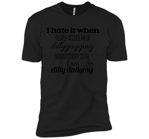 Lollygagging Dilly Dilly T Shirt Black / Small Next Level Premium Short Sleeve Tee - PresentTees