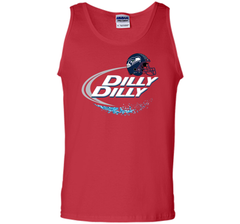 Seattle Seahawks Dilly Dilly Bud Light T Shirt SEA NFL Football Tank Top - PresentTees