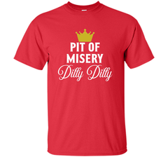 Pit of Misery Dilly T shirt Custom Ultra Cotton Tshirt - PresentTees