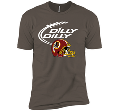 DILLY DILLY Washington Redskins NFL Team Logo Next Level Premium Short Sleeve Tee - PresentTees