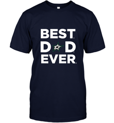 Best Dallas Stars Dad Ever Hockey NHL Fathers Day GIft For Daddy Men's T-Shirt