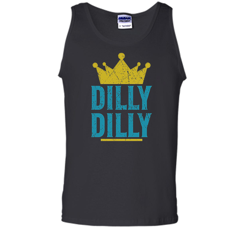Dilly Dilly A True friend of the crown King T Shirt Black / Small Tank Top - PresentTees