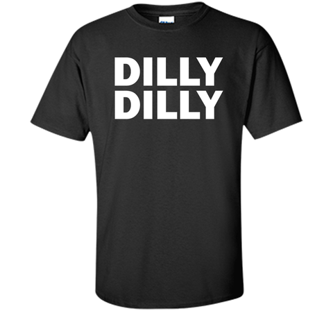 Bud light Dilly Dilly T-Shirt Black / Small Custom Ultra Cotton Tshirt - PresentTees