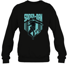 Marvel Spider Man Far From Home Stealth Suit Silhouette Crewneck Sweatshirt