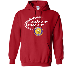 DILLY DILLY Minnesota Vikings shirt Pullover Hoodie 8 oz - PresentTees