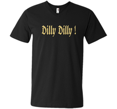 Dilly Dilly Golden Dilly T Shirt Men Printed V-Neck Tee - PresentTees