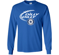 DILLY DILLY  Dallas Cowboys shirt LS Ultra Cotton TShirt - PresentTees