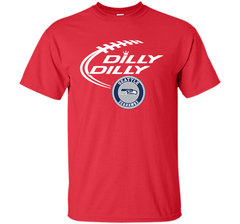 DILLY DILLY Seatle Seahawk shirt Custom Ultra Cotton Tshirt - PresentTees