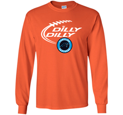 DILLY DILLY Carolina Panthers shirt LS Ultra Cotton TShirt - PresentTees