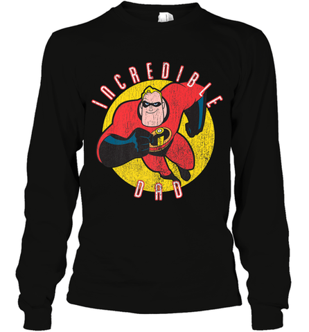 e253349a Disney Pixar Mr. Incredible Dad Father's Day Gifts Long Sleeve T-Shirt Long  Sleeve