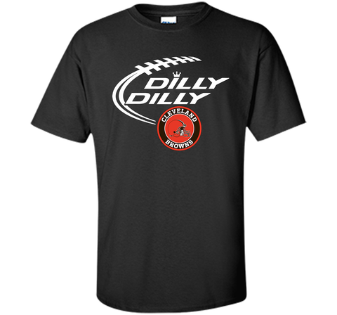 DILLY DILLY Cleverlan Browns shirt Black / Small Custom Ultra Cotton Tshirt - PresentTees