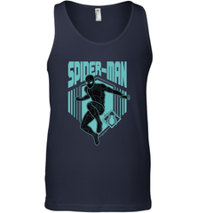 Marvel Spider Man Far From Home Stealth Suit Silhouette Men's Tank Top Men's Tank Top - PresentTees