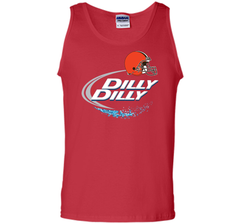 Cleveland Browns Dilly Dilly Bud Light T-Shirt CLE NFL Football Team Gift  for Fans