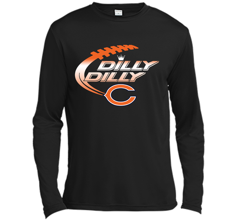 8c973aa83 Chicago Bears Dilly Dilly T-Shirt Bud Light Christmas NFL Football Gift for  Fans Black