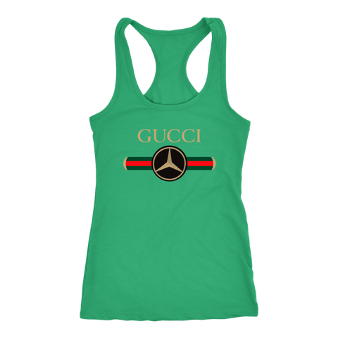Gucci Mercedes T-shirt Women Tank Top