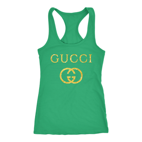 Gucci Logo Vintage Inspired Women's Tank Top