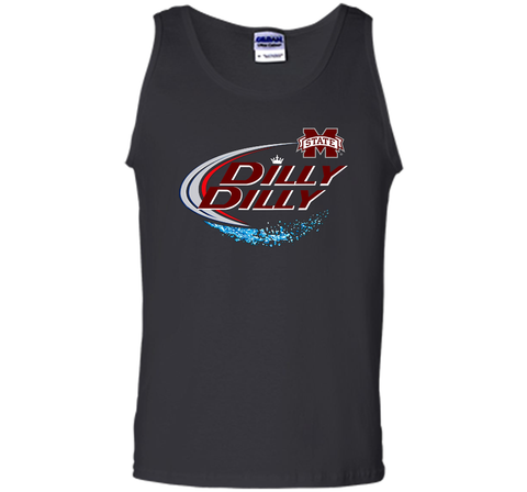 Dilly Dilly Mississippi State Logo American Team Bud Light T-Shirt Black / Small Tank Top - PresentTees